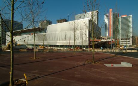 Centro de Convenciones Internacional de Barcelona - Ejemplos de uso del hormigón