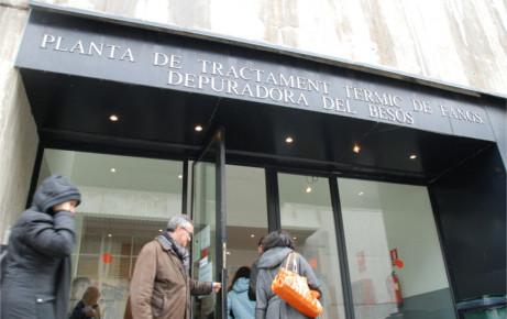 Depuradora de Barcelona - Ejemplos de uso del hormigón
