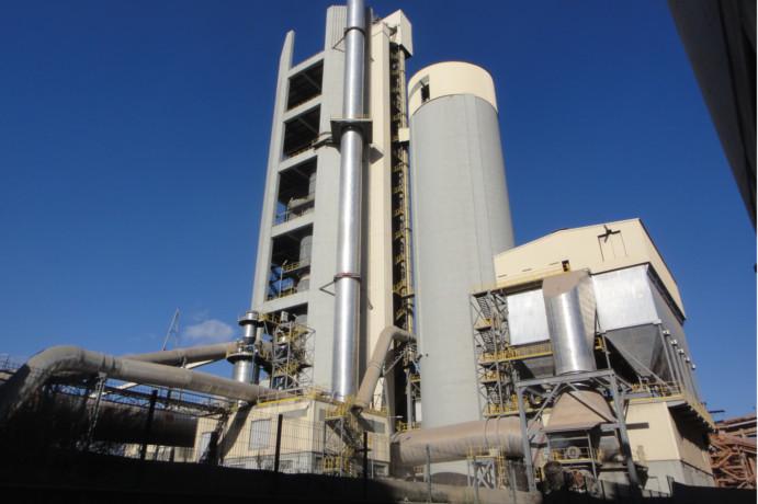 Fábrica de cemento - SANT VICENÇ DELS HORTS CEMENTOS MOLINS INDUSTRIAL, S.A.