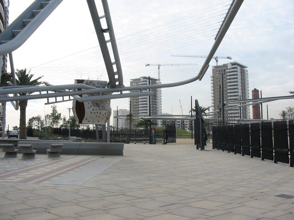 El cemento es Vida - Espacios públicos